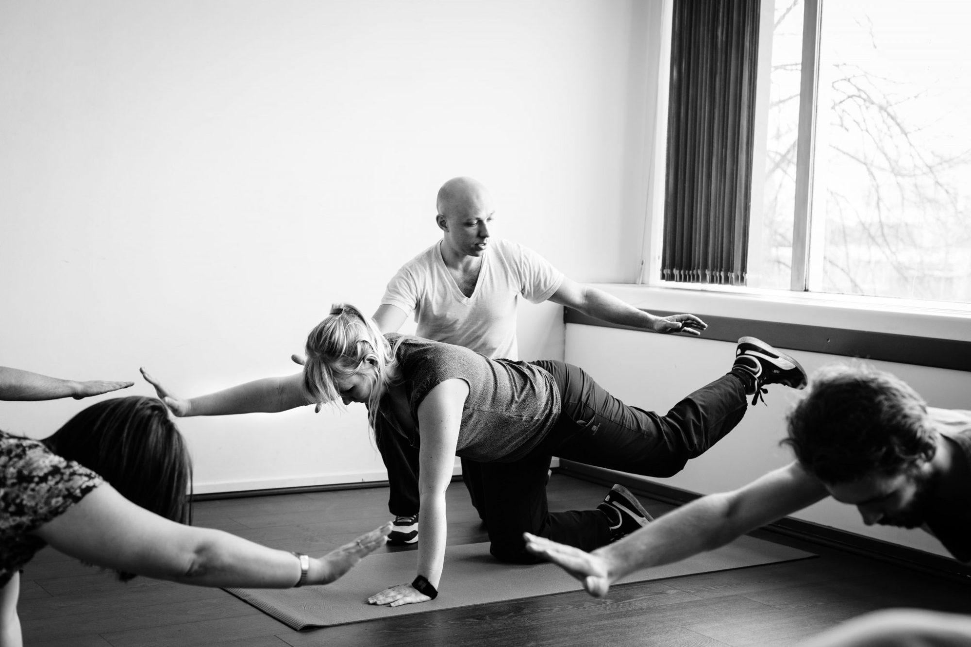 Samenwerking met Ian Du Mont, personal training