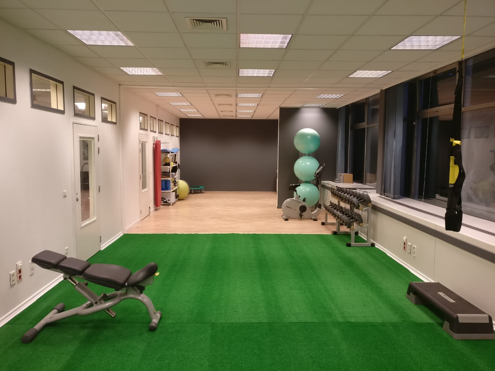 Our physiotherapy clinic has a new look!